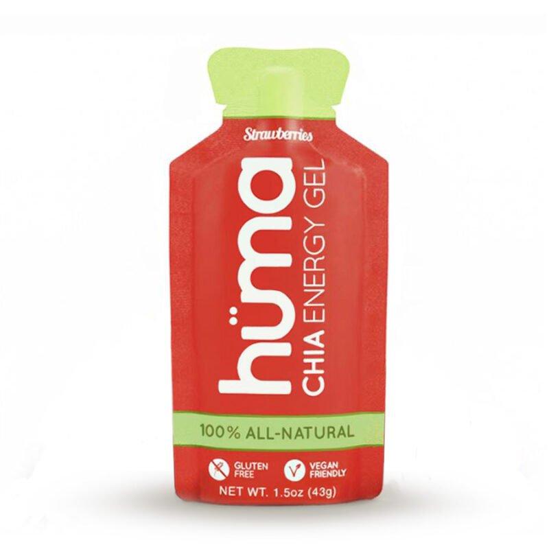 huma chia energy gel original strawberry fresa vegano