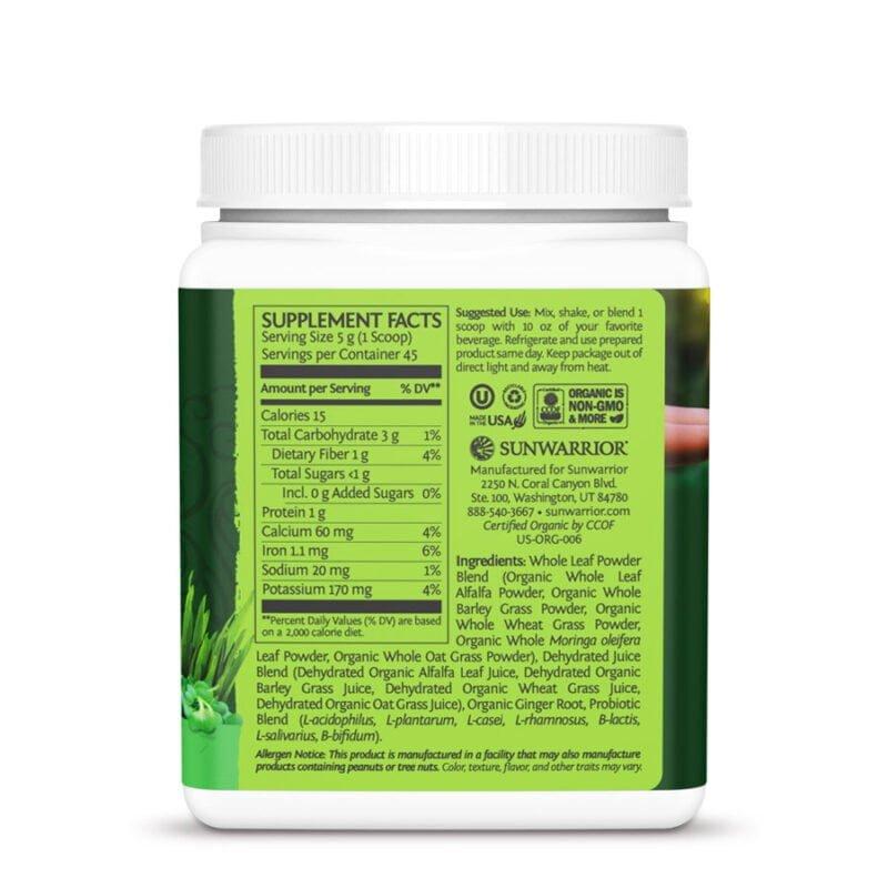 Ormus Supergreens natural 450g sunwarrior