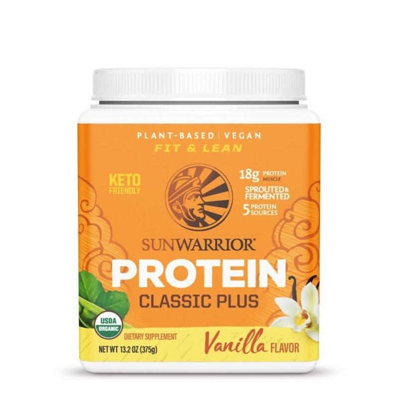 Classic Plus Protein Vainilla 375g Sunwarrior Proteína Vegana Plant Based