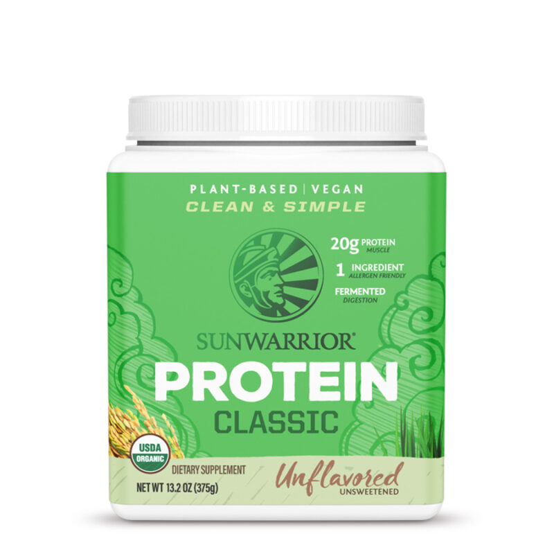 classic protein natural 375g sunwarrior proteina