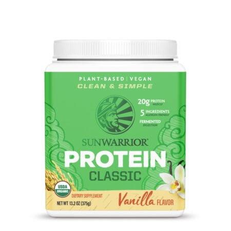 classic protein vainilla 375g sunwarrior proteina