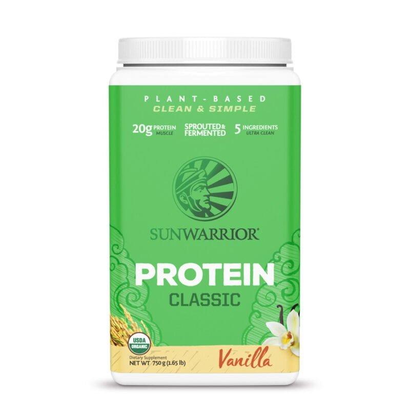 classic protein vainilla 750g sunwarrior proteina