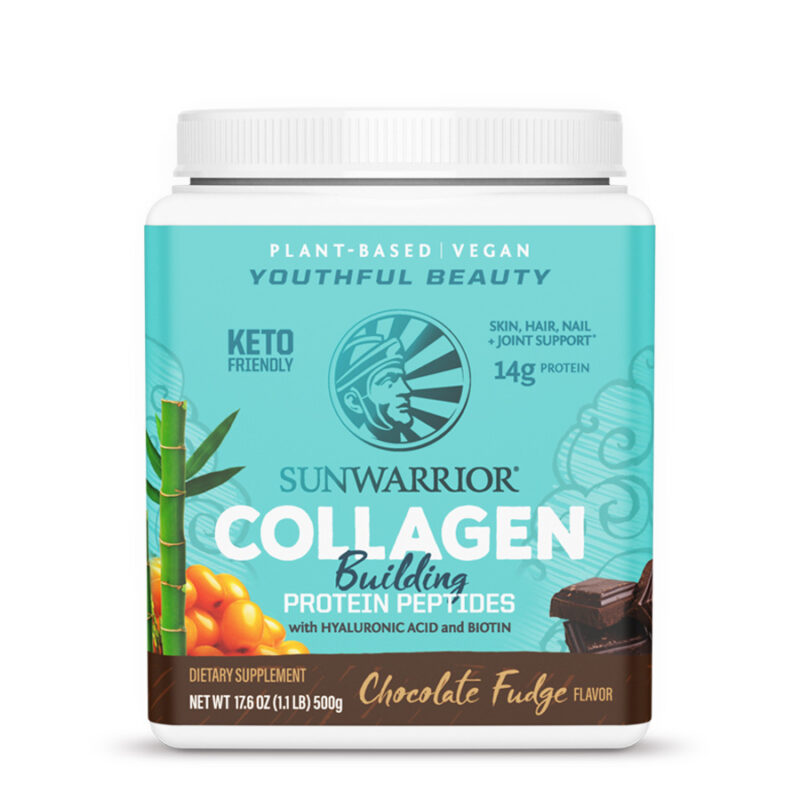 Colágeno Vegetal Chocolate Fudge Sunwarrior