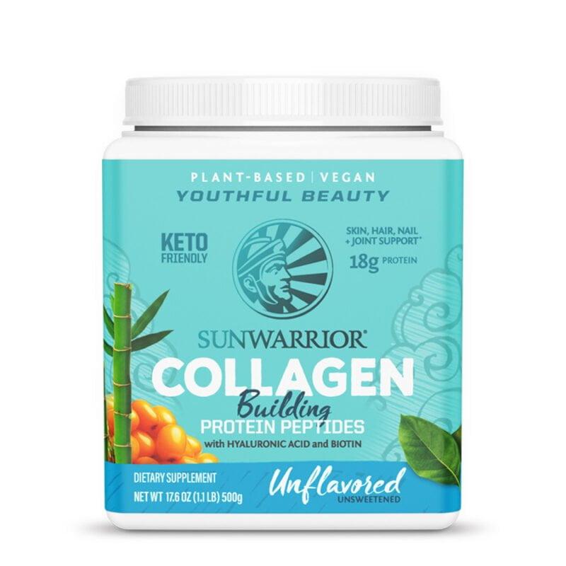 Colágeno Vegetal Natural Unflavored Sunwarrior
