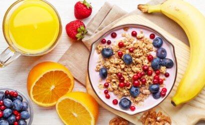tops para el desayuno nutritivo