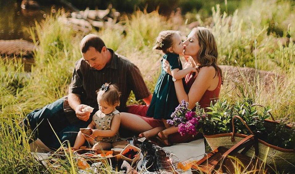 vida saludable en familia picnic vegano plantbased lifestyle